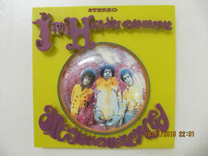 "Collectible ""The Jimi Hendrix Experience"" 3D Album Cover LikeNew"