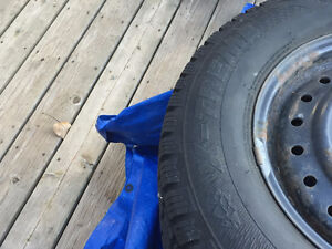Used Hercules Avalanche X-treme tires for sale with rims Windsor Region Ontario image 4