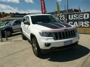 2013 Jeep Grand Cherokee WK MY13 Trailhawk (4x4) White 5 Speed Automatic Wagon Wangara Wanneroo Area Preview