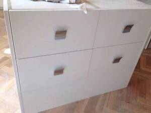 Brand new custom made vanity unit -Australian made and designed Darling Point Eastern Suburbs Preview