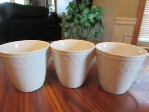 Princess House Veranda Mugs, Pasta Bowls