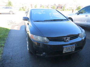 2006 Honda Civic Coupe DX-G with 20 inch rims