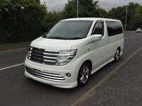 2003 Nissan Elgrand 3500 RIDER 4WD LEATHER FRESH IMPORT 5dr