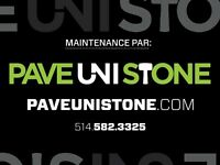 UNISTONE REPAIR - RE-LEVELLING & UNISTONE CLEANING- PAVEUNISTONE