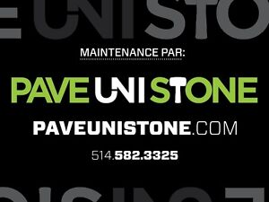 UNISTONE REPAIR - RE-LEVELLING & UNISTONE CLEANING- PAVEUNISTONE West Island Greater Montréal image 1