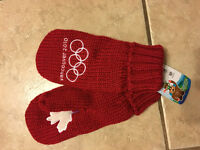 VANCOUVER 2010 HUDSON BAY CO MITTENS - NEW WITH TAGS