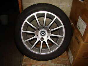smart 451 rear alloy wheel and tire 2/2 available