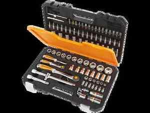 2 cles a cliquet douilles pro vanadium 6 pans 94p - Coffret outils magnusson ...