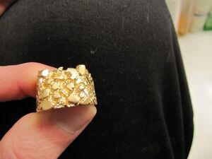 10K yellow gold ring West Island Greater Montréal image 1