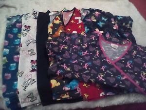 2xl scrubs 8 Tops and 4 pants