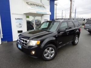 2008 Ford Escape XLT V6 4WD, Leather, Sunroof, Heated Seats