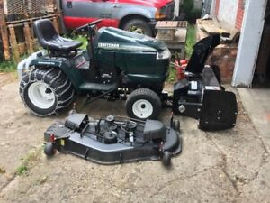 Craftsman Tractor woth mower and snowblower
