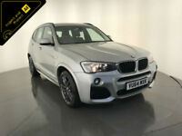 2014 BMW X3 XDRIVE 20D M SPORT AUTOMATIC DIESEL 1 OWNER SERVICE HISTORY FINANCE