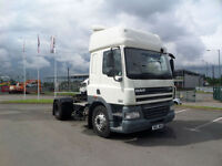2011 (11) DAF TRUCKS FT CF85.410 4X2 SPACECAB TRACTOR UNIT
