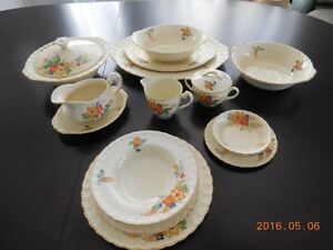 Vaisselle anglaise ancienne, 1930/1930s vintage english dishes
