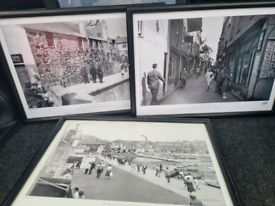 3 x Old Town St Ives, Cornwall Framed Pictures
