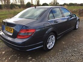 Mercedes C200 CDI Sport Automatic Full Leather Sat Nav