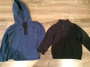 Boys size 4 tops Gap & Osh Kosh like new