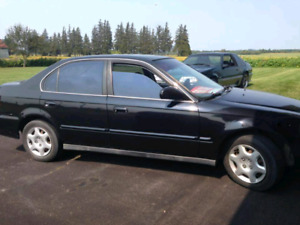 Honda civic 2000 4 door 5 speed