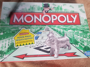 Unused New Monopoly Board Game