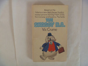 THE SHAGGY D.A. by Vic Crume - 1976 Paperback