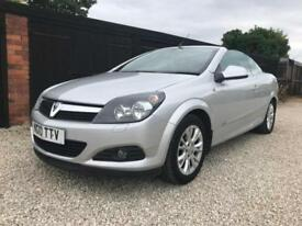 2010/10 Vauxhall Astra TWIN TOP SPORT 2DR CONVERTIBLE,ONLY 32000 MILES,HISTORY