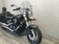2013 (13) HONDA VT750 SHADOW FINISHED IN BLACK WITH 20626 MILES.