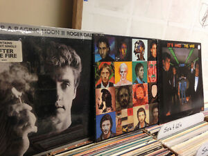 THE WHO/ROGER DALTREY Record Set (3 Total)