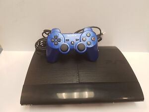 """sold""   PS3 console  250GB  w 1 wireless controller"
