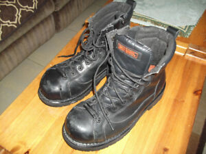 HARLEY DAVIDSON MENS SIZE 10 WORK RATED OR RIDING BOOTS