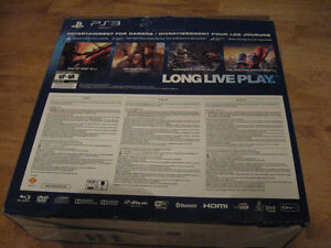 "PS3 "" BOX ONLY "" SLIM VERSION Cambridge Kitchener Area image 5"