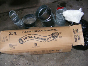 FLEXIBLE DUCTING INSULATED