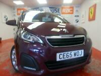 2015 Peugeot 108 ACTIVE TOP(ONLY 0.00 ROAD TAX)(ONLY 26000 MILES) FREE MOTS AS L