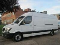 2014 14 MERCEDES-BENZ SPRINTER 2.1 313CDI LWB HIGH ROOF 129 BHP. FACELIFT. 1 OWN