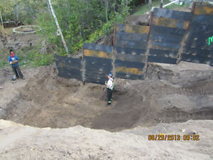 CERTIFIED SCREW PILE INSTALLER. CALL ROSS FOR A QUOTE Strathcona County Edmonton Area image 2