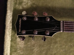 ONE OF A KIND 1969 PROTO TYPE BLACK WIDOW ELECTRIC GUITAR