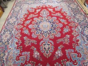 2 CLASSIC & AUTHENTIC PERSIAN RUGS HAND KNOTTED IN PURE WOOL