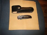 Leather Tool Holder C/W Folding Browning Tool
