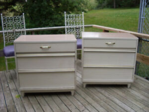 Pair of Small  Vintage Dressers