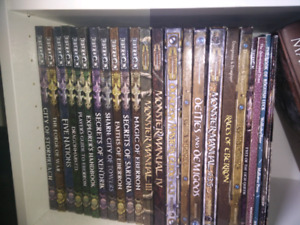 25 Dungeons And Dragons 3.5 books incl. Eberron campaign setting