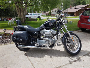 Harley Davidson Sportster 883 and Accessories