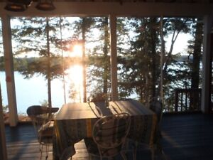 Quiet, secluded cottage for rent on Blackstone Lake.