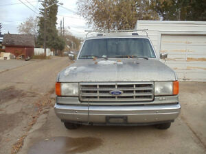 1988 Ford Pickup Truck c/w High-Rise Canopy Edmonton Edmonton Area image 1