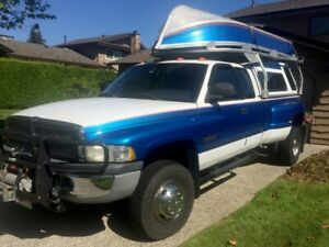 1999 Dodge RAM 3500 Laramie SLT Quad Cab 4X4 Dually 5.9L Cummins