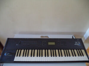 Korg X3 Synthesizer Piano Keyboard WorkStation With SKB ATA Case