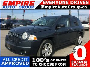 2008 JEEP COMPASS SPORT * 4WD * POWER GROUP * EXTRA CLEAN