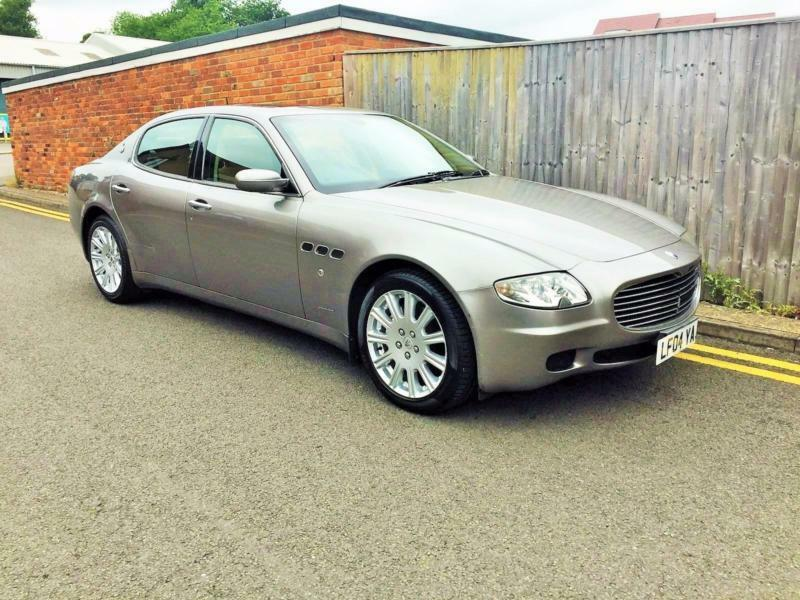 2004 Maserati Quattroporte 42 Seq Only 23000 Miles From New In