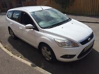 2908 Ford Focus style 1.6 TDCI estate full mot £30 a year tax