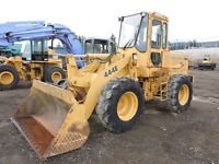 John Deere articulating wheel loader