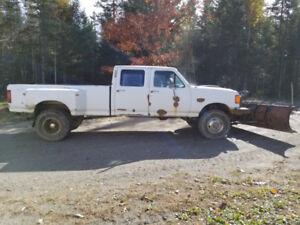 f350 plow truck